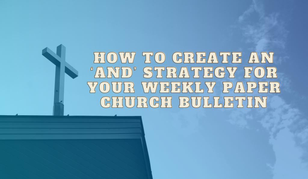 Paper-Church-Bulletin
