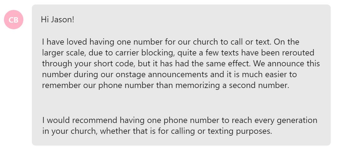 landline-texting